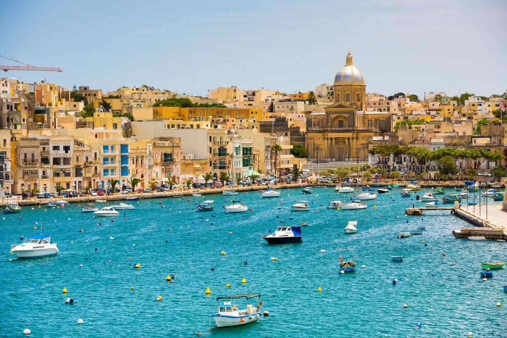 Baía de Valletta